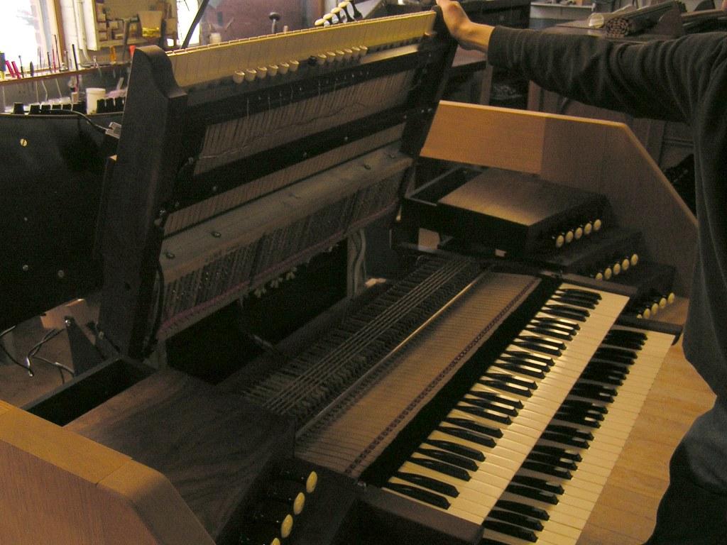 Under the hood, Austin Organs