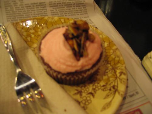 cupcake and the news