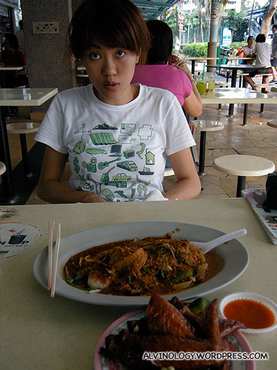 Great food at the Whampoa market