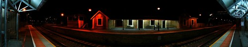 Blackwood Railway Station - 180d Pano