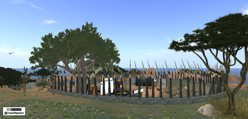 Porcupine Theatre in Virtual Africa Side View