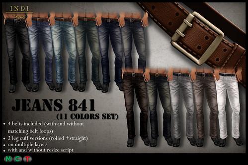 Jeans 841 Full Pack