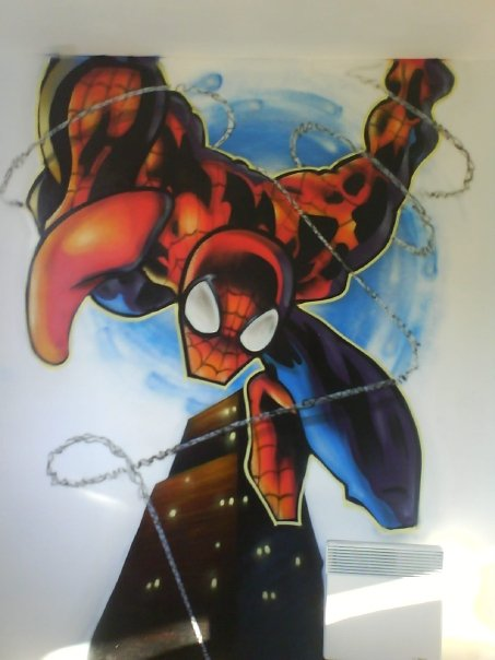 graff spiderman