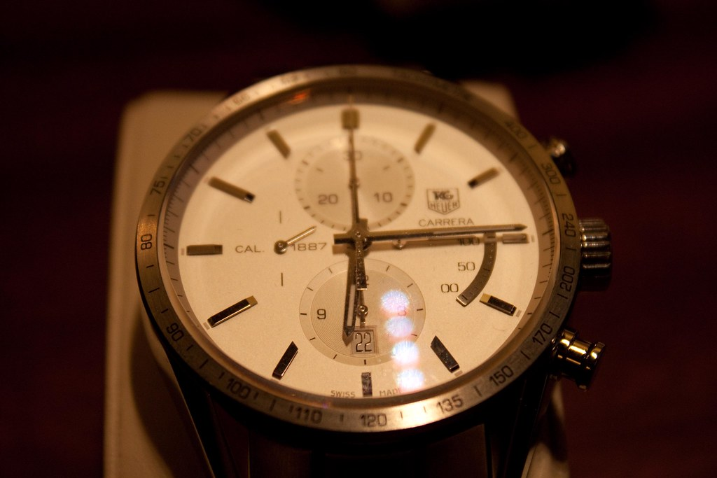 TAG Heuer Carrera Calibre 1887 Manufacture Chrono with power reserve