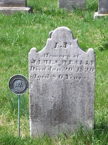 Revolutionary War veterans at Old Carlisle Cemetery (1/6)