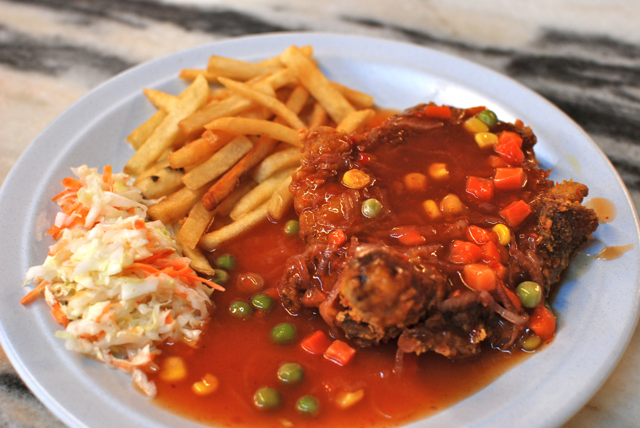 Hainan Chicken Chop