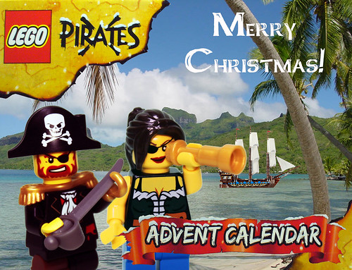 Pirate Advent Calendar Day 25