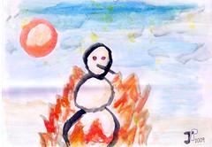 Burning Snowman - Jujhar Pannu 2009