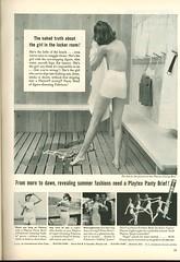 Playtex panty brief ad, 1950s