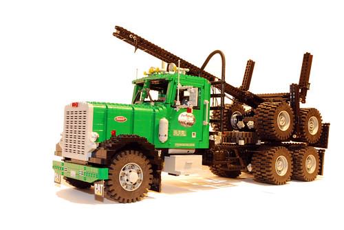 Lego Logging Truck Peterbilt