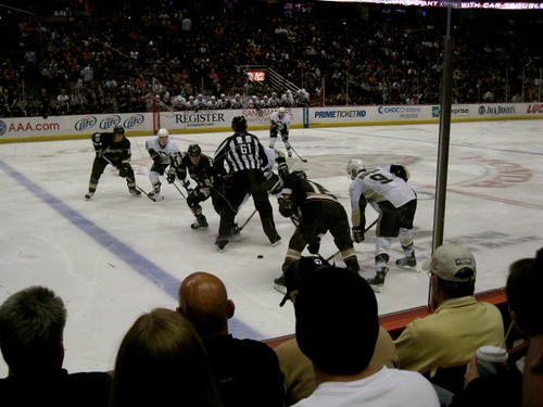 Duck fans should be embarrassed I was able to get seats so close to the ice just hours before the game... AT THE BOX OFFICE.