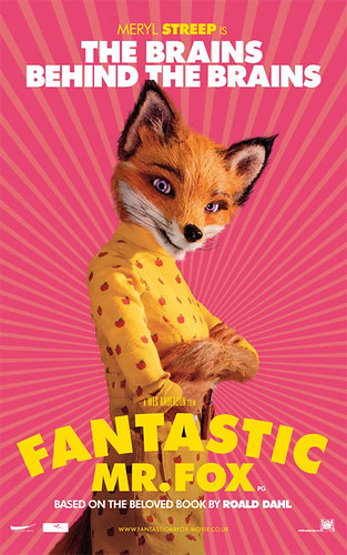 Fantastic Mr. Fox (2009) character poster-The Brains behind The Brains