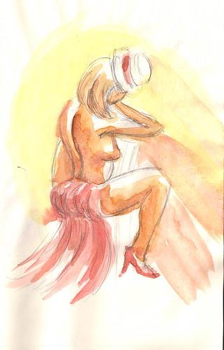 Burlesque Sketch 11