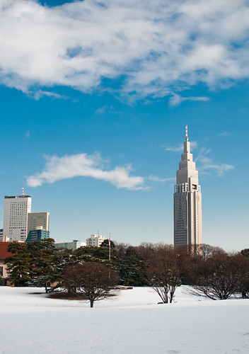 Snow Meiji Jingu