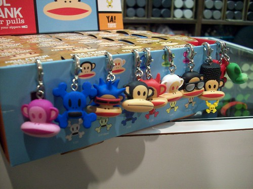 paul frank zipper pull kidrobot