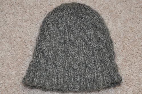 Handspun Clamber hat.