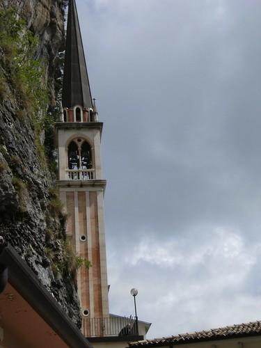 madonna della corona - campanile