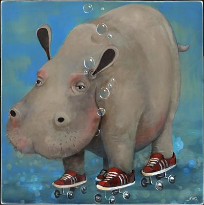 HippopotamusRollerskatius