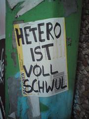 hetero schwul