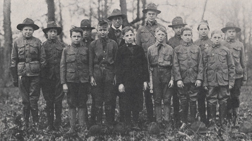 Boy Scouts, Troop 10, 1918