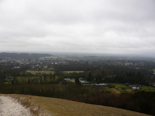 View from Colley Hill