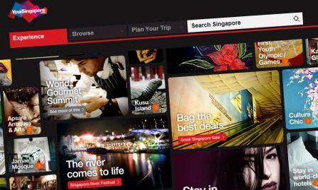 New YourSingapore.com Website