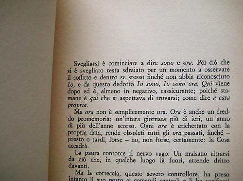 Christopher Isherwood, Un uomo solo, Guanda 1981, p. 9 (part.)