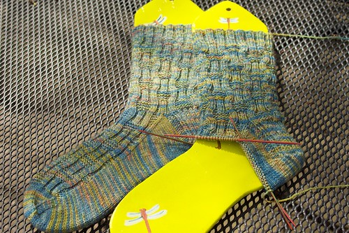 Roger Socks: mid-March progress
