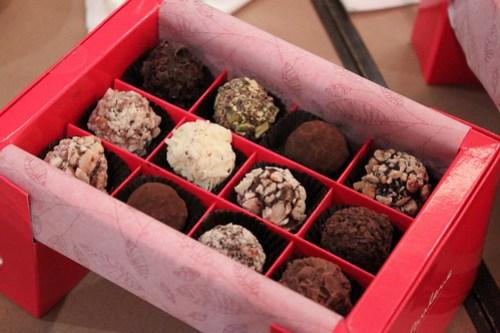 Truffles by Paulene Chocolats Suisses