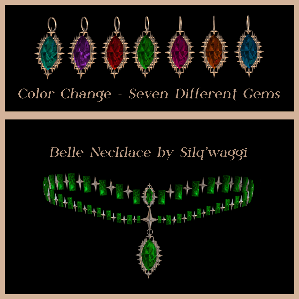 Belle Necklace by Silq'waggi