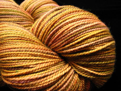 Pine Forest - Hand Dyed Tiger Twist Sock Yarn