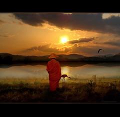 Meditation at the Lake - B2