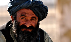 Afghan farmer - Pioneering Vet clinic in Talib...