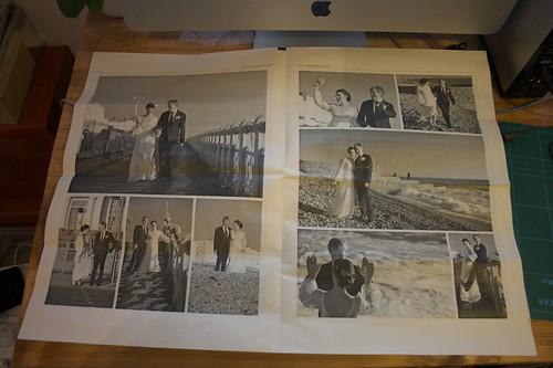 My Spanky Wedding Photographs Newspaper - thanks Newspaperclub.co.uk
