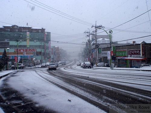 First Big Snow of the Season