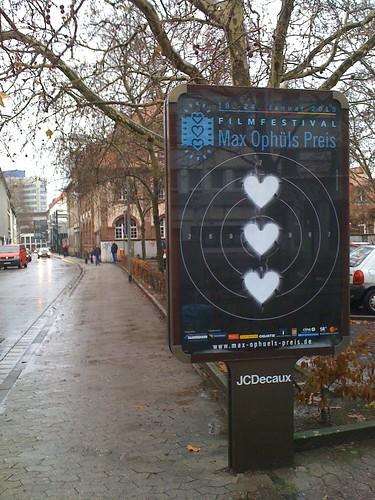 Ophüls-Plakat am Gerberplatz