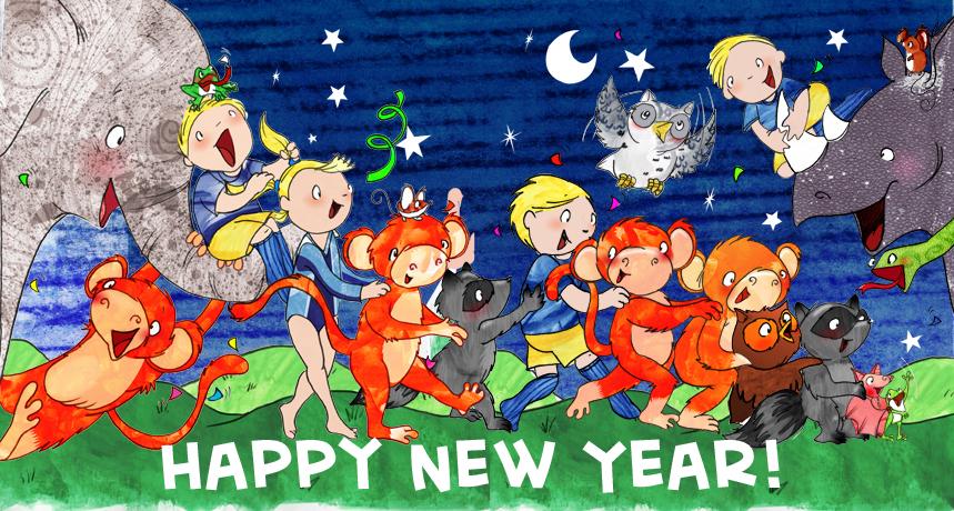 Happy New Year Conga