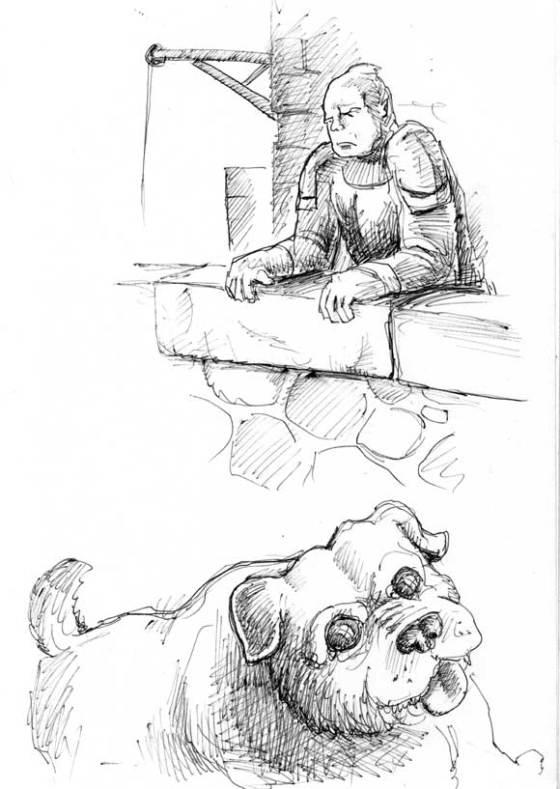 pensive-orc n' pug