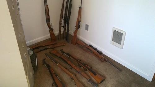 Melvin's gun room