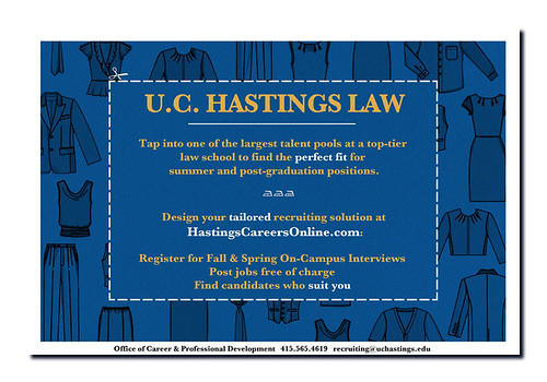 Mockup for UC Hastings Law School