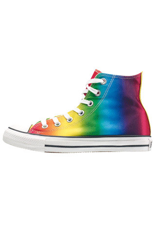 Converse sneakers, $90.