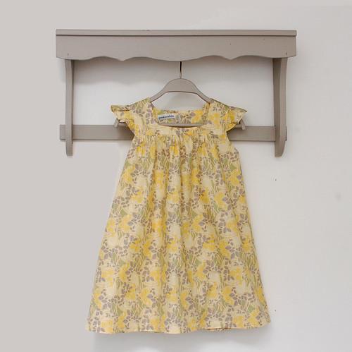 robe jaune LM devant