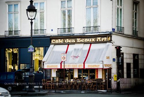 Le Café des Beaux Arts, 6ème arr.