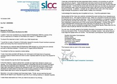 SLCC FOI expenses review