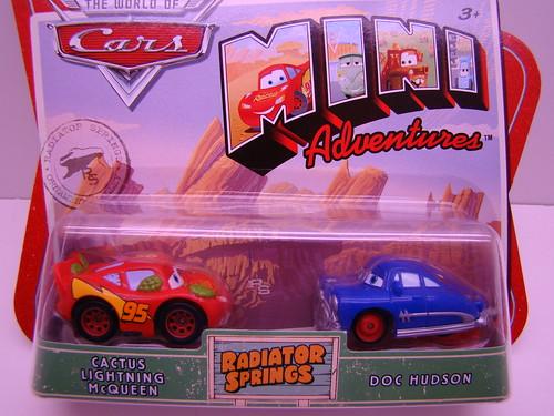 Disney CARS mini adventures Cactus McQueen (1)