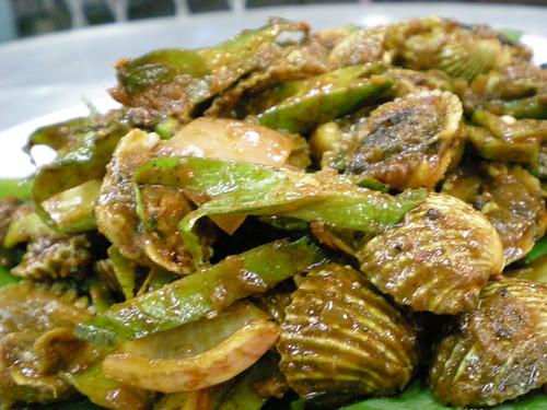 Prai - spicy clams