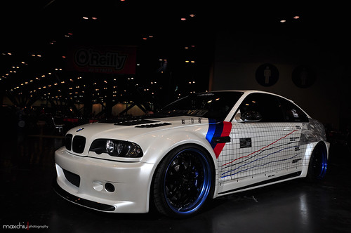 Eric Shih's Custom Widebody BMW M3