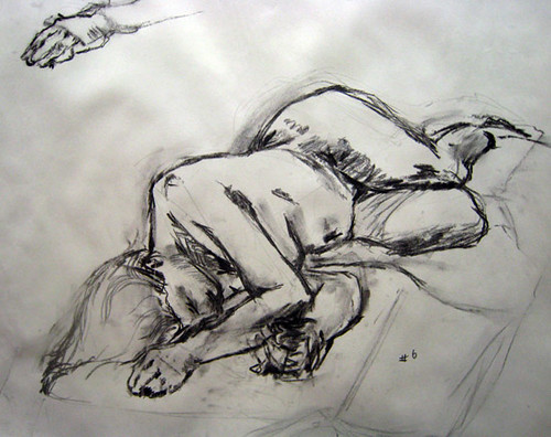 1 hour lifedrawing pose from week 1