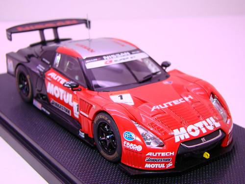 EBBRO MOTUL AUTECH GT-R SUPER GT 2009 OKAYAMA TEST (5)