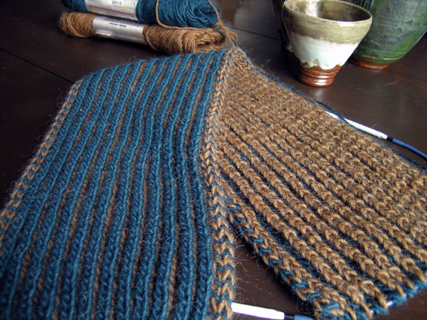 Brioche Scarf from Scarf Style